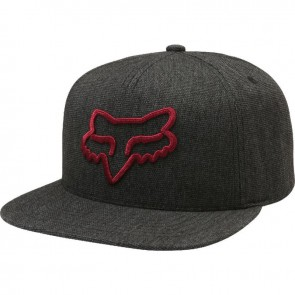 Czapka Z Daszkiem Fox Instill Snapback Heather Black Os