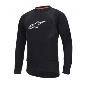 ALPINESTARS DROP 2 LS JERSEY BLACK WHITE