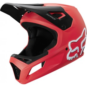 FOX Kask Rowerowy  Junior Rampage Bright Red