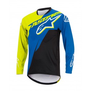 ALPINESTARS SIGHT CONTENDER L/S JERSEY ROYAL BLUE