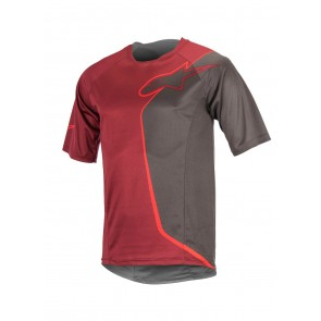 ALPINESTARS SIERRA SS JERSEY RIO RED DARK SHADOW