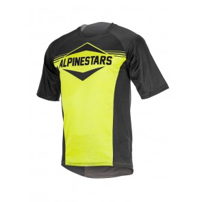 ALPINESTARS MESA SS JERSEY BLACK ACID YELLOW