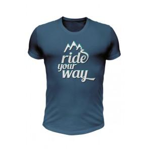 Koszulka bawełniana Ride Your Way krótki rękaw.