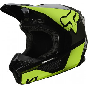 Kask FOX Junior V-1 Reven YS żółty