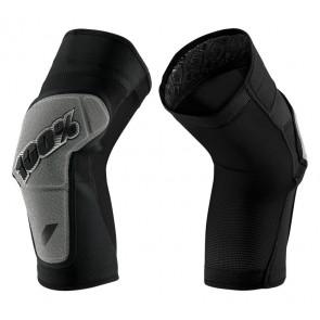 Ochraniacze na kolana 100% RIDECAMP Knee Guard black grey roz. S (NEW)
