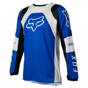 Jersey FOX Junior 180 Lux niebieski