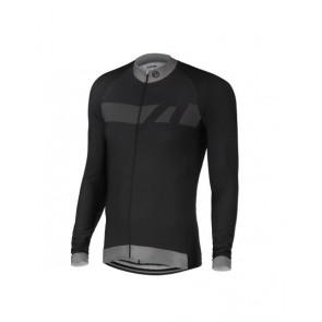 Bluza kolarska Vector, czarno-szara, rozmiar S