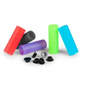 Nakładka na peg Sleeve plastikowa, czerwona, długość pega: 110mm, 1 szt.