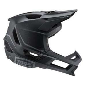Kask full face 100% TRAJECTA Helmet Essential Black