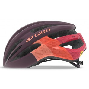 Kask szosowy GIRO SAGA INTEGRATED MIPS matte dusty purple bars roz. M (55-59 cm) (NEW)