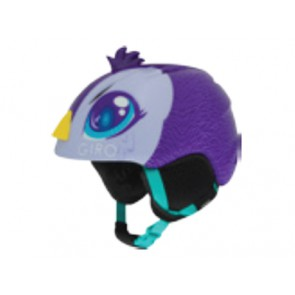 Kask zimowy GIRO LAUNCH PLUS purple penguin roz. S (52-55.5 cm)