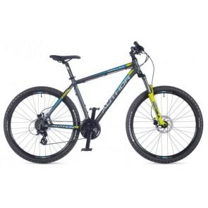 "IMPULSE 27.5 17"" grafitowo(mat)/żółty(mat), rower AUTHOR'19"