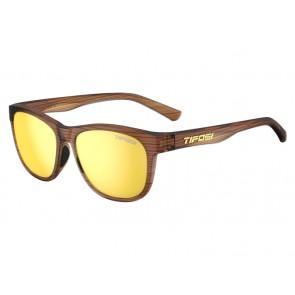 Okulary TIFOSI SWANK woodgrain (1szkło Smoke Yellow 11,2% transmisja światła) (NEW)