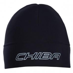 CHIBA Czapeczka THERMOFLEECE czarna L/XL