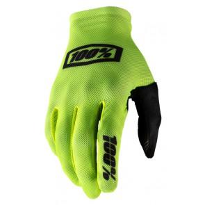 Rękawiczki 100% CELIUM Glove fluo yellow black roz. M (długość dłoni 187-193 mm) (NEW)