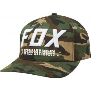Czapka Z Daszkiem Fox Triple Threat Flexfit Green Camo L/xl