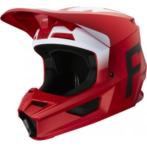 Kask Fox V-1 Werd Flame Red Xl