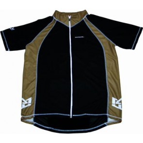 ROYAL Koszulka ENDURO czarno brązowa M