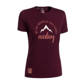 Koszulka ROCDAY Women Monty Sanitized L burgund