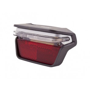 Lampka tylna na bagażnik SPANNINGA BRASA XB + baterie