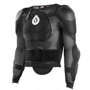 SixSixOne 2018 Comp Pressure Suit zbroja czarna-L