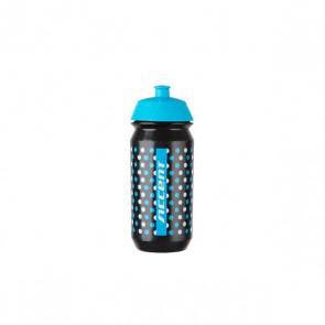 Accent Bidon Dots czarno-niebiesko-biały 500 ml