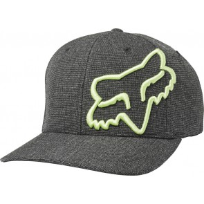 Czapka Z Daszkiem Fox Clouded Flexfit Black/green S/m