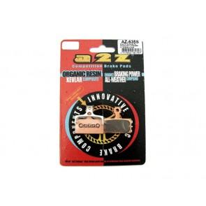 A2Z AZ-635S Shimano XT/XTR/SLX Gold klocki hamulcowe