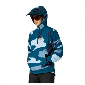 Kurtka FOX Ranger Wind Pullover niebieski camo