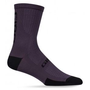 Skarpety GIRO HRC + MERINO WOOL dusty purple black roz. M (40-42) (NEW) (GIRO STUDIO 2)