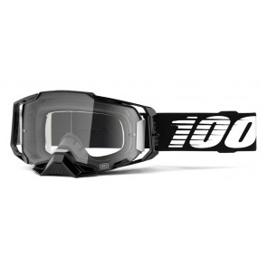 Gogle 100% ARMEGA Googgle Black Clear Lens