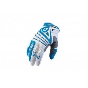 661 Descend rękawiczki biało niebieskie
