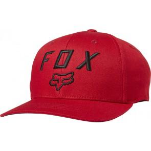 Czapka z daszkiem FOX Junior Legacy Moth 110 czerwony