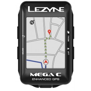 Komputer rowerowy LEZYNE MEGA C GPS (NEW)
