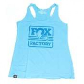 FOX koszulka damska Tank turkusowa S