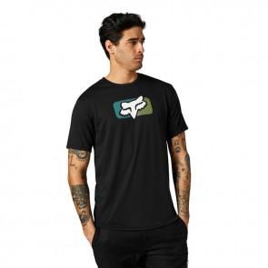T-shirt FOX Mirer Tech czarny