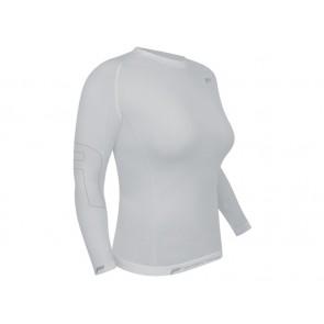 Koszulka damska FUSE ALLSEASON Megalight 200 długi rękaw / S biała