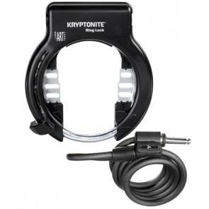 Kryptonite Blokada tylnego koła RING LOCK (Retractable) + linka PLUG CABLE 1012 10mm/120cm