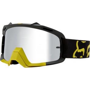 Gogle Fox Air Space Preme Dark Yellow - Szyba Chrome Spark + Clear (2 Szyby W Zestawie)
