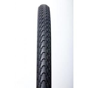 Opona TourGuardPlus  700x35C czarna wire, taśma odblaskowa