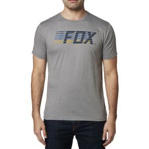 T-shirt Fox Lightspeed Moth Prem Heather Graphite
