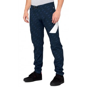 Spodnie męskie 100% R-CORE X Limited Edition Pants Navy White
