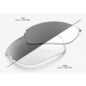 Szkła do okularów 100% SPORTCOUPE Photochromic Lens (Szkła Fotochromatyczne, przepuszczalność światła 16-77%)