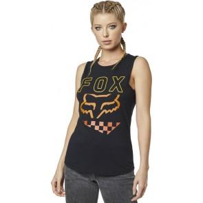 Koszulka Fox Lady Bez Rękawów Richter Black