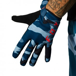 Rękawiczki FOX Ranger blue camo