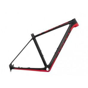 Rama MTB Peak Carbon 29 S czarno-czerwona