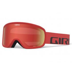 Gogle zimowe GIRO CRUZ RED WORDMARK (szyba AMBER SCARLET 40% S2)