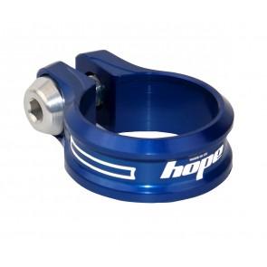 Hope Zacisk podsiodłowy Bolt 30.0mm Niebieski