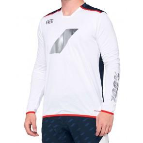Koszulka męska 100% R-CORE X Limited Edition Jersey długi rękaw Navy White