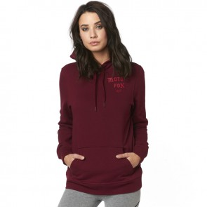 Bluza Fox Lady Z Kapturem Arch Cranberry S